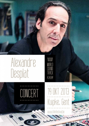 alexandre desplat,world soundtrack awards