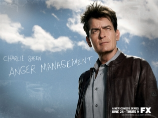 Anger Management,charlie sheen,selma blair,fx,Two and a Half Men,Shawnee Smith,Guy Van Sande