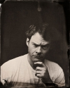 Bill Hader tin type high quality picture