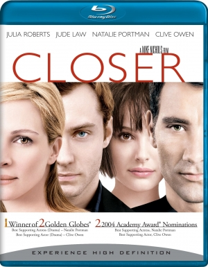 review,filmbespreking,closer,mike nichols,natalie portman,jude law,julia roberts,clive owen,2004