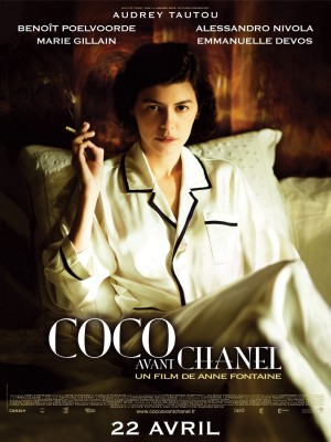 coco chanel,audrey tautou,gucci,versace,anne fontaine,biopic,coco avant chanel