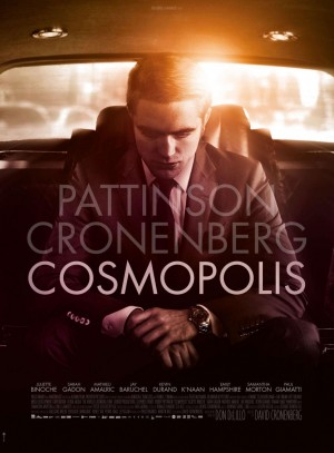 cosmopolis,robert pattison,david cronenberg,samantha morton,juliette binoche,paul giamatti,mathieu amalric,jay baruchel,don delillo,bret easton ellis,david foster wallace,thomas pynchon,philip roth,cormac mccarthy,game 6,michael keaton