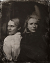 Diane Kruger Britt Marling tin type high quality picture