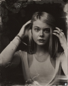 Elle Fanning tin type high quality picture
