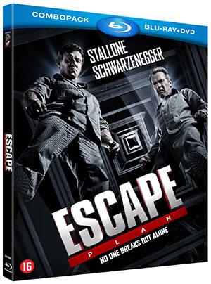 poster van Escape Plan met Sylvester Stallone en Arnold Schwarzenegger