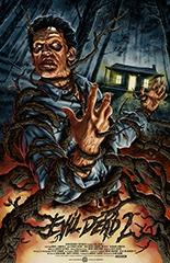 evil dead 2 alternative poster