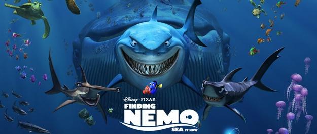 pixar,finding nemo,finding nemo 2,andrew stanton,albert brooks,ellen degeneres,alexander gould,willem dafoe,victoria strause,john carter,disney