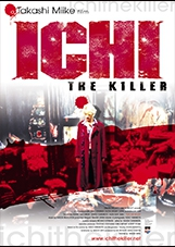 Ichi the Killer,Takashi Miike poster