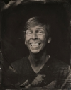 Jack McBrayer tin type high quality picture
