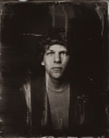 Jesse Eisenberg tin type high quality picture