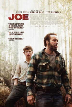 Joe poster review trailer poster Nicolas Cage film 2014