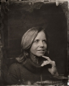 Katie Couric tin type high quality picture