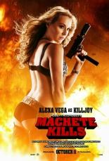 machete kills alexa vega poster