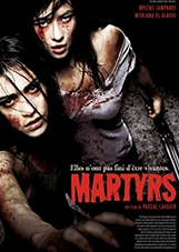 Martyrs,Pascal Laugier poster