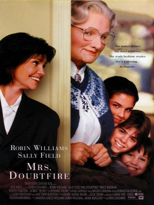 mrs doubtfire,robin williams,chris columbus,sally field,fox,The Hot Chick,jack and jill,home alone,Night at the Museum,David Berenbaum