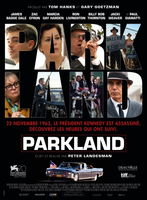 parkland,barry ackroyd,peter landesman,marcia gay harden,zac efron,colin hanks,paul giamatti,ron livingston,james badge dale,billy bob thornton,jfk,the parallax view