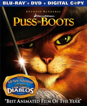 puss in boots,shrek,antonio banderas,salma hayek,zach galifianakis,amy sedaris,billy bob thornton,chris miller