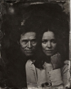 Rachel McAdams Willem Dafoe tin type high quality picture