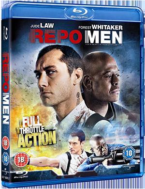 Repo Men blu-ray cover