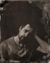 Sam Rockwell tin type high quality picture