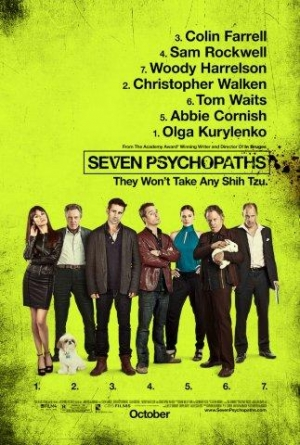 Seven Psychopaths,Martin McDonagh,In Bruges,Guy Ritchie,Sam Rockwell,Christopher Walken,Woody Harrelson,Mickey Rourke,Tom Waits,Olga Kurylenko,Abbie Cornish,Helena Mattsson