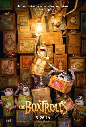 the Boxtrolls poster animatie Laika