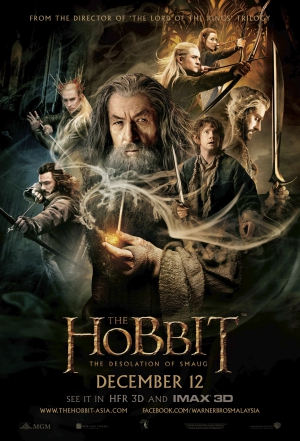 the hobbit the desolation of smaug,the hobbit,ian mckellen,peter jackson,Martin Freeman,Benedict Cumberbatch,Richard Armitage