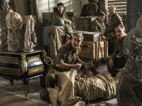 the monuments men,george clooney,matt damon,bill murray,john goodman,jean dujardin,hugh bonneville,cate blanchette