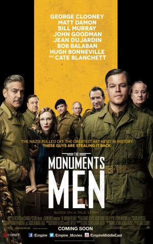 The Monuments Men,george clooney,Matt Damon,Bill Murray,John Goodman,Jean Dujardin,Hugh Bonneville