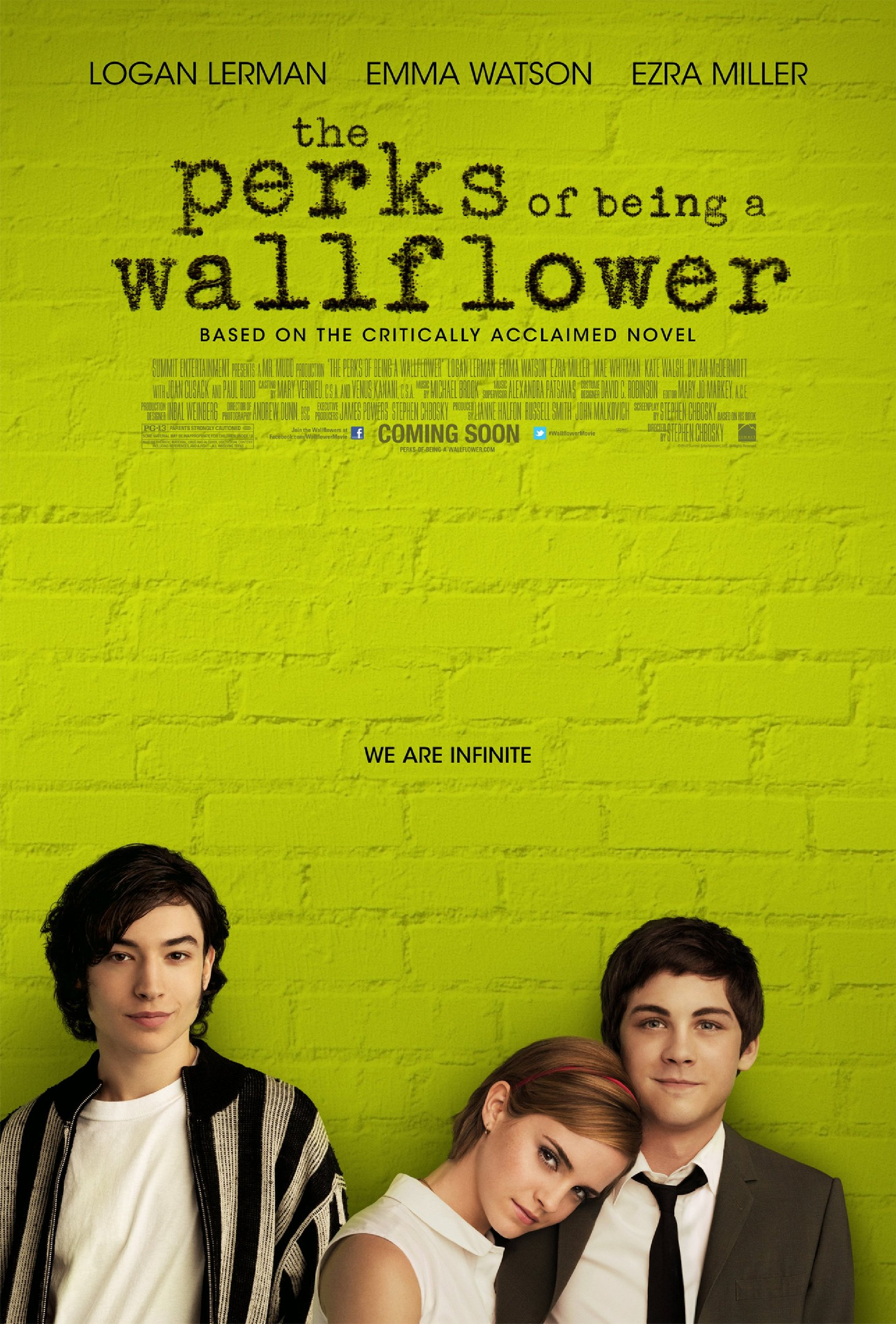 The Perks of Being a Wallflower hi def poster