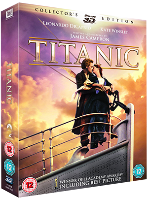 titanic,3d,james cameron,leonardo dicaprio,kate winslet,billy zane,20th century fox,avatar,gone with the wind