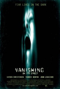 vanishing on 7th street,poster