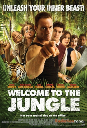 Jean-Claude Van Damme,Welcome to the Jungle,Adam Brody,Rob Huebel,Rob Meltzer,Jeff Kauffmann,Kristen Schaal,Dennis Haysbert