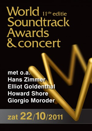World Soundtrack Awards,hans zimmer,Elliot Goldenthal,howard shore,Alexandre Desplat,Ronni Chasen,Giorgio Moroder,Abel Korzeniowski,Randy Newman,inception,toy story 3,alien 3,a single man,flashdance,top gun,midnight express,Looking for Richard,Driving Miss Daisy