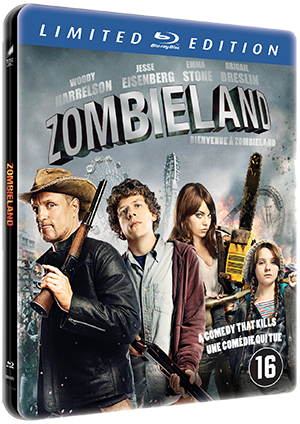 Zombieland blu-ray cover