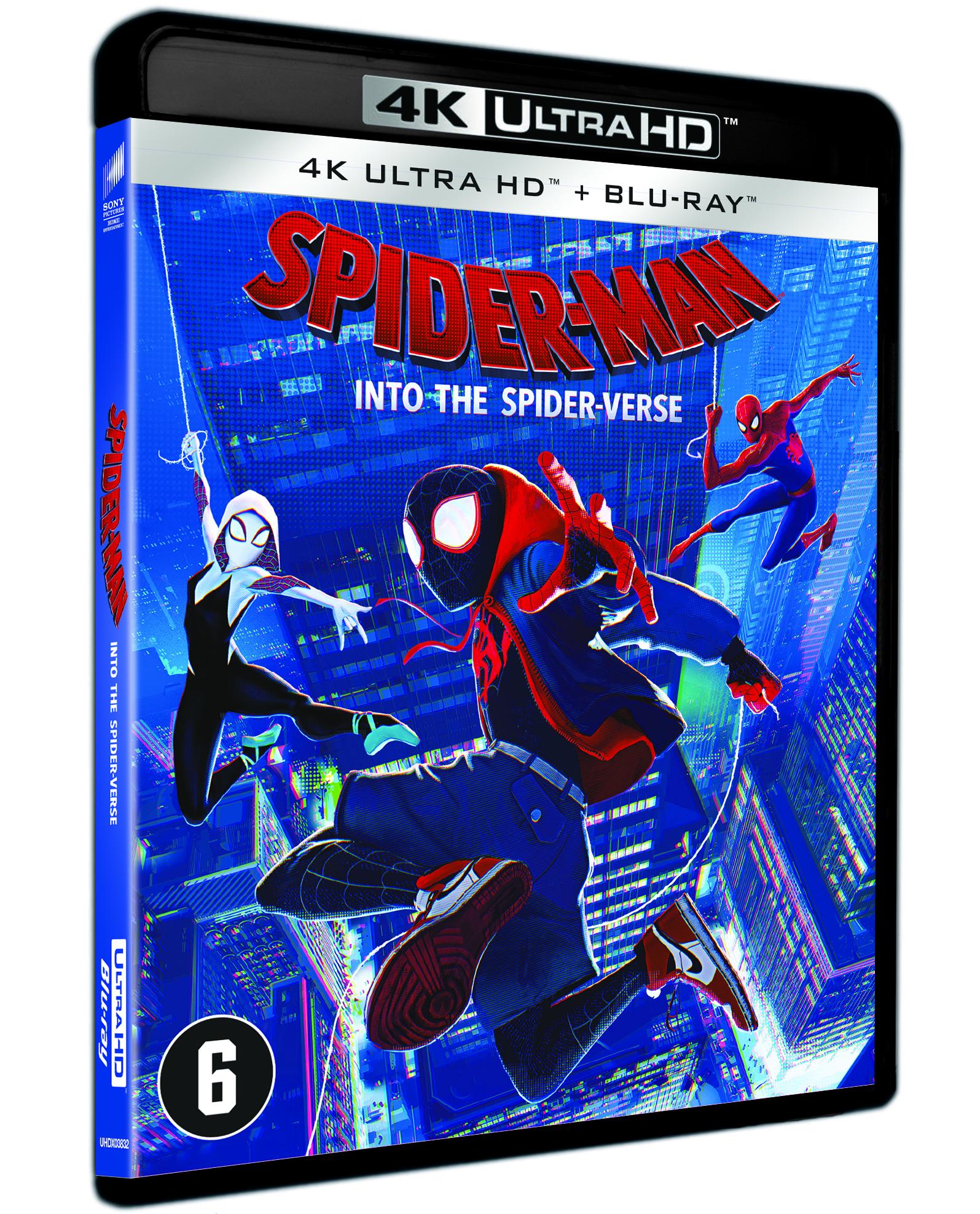 Zoe Kravitz Spider Verse: Spider-Man: Into The Spider-Verse (2018) **** Blu-ray