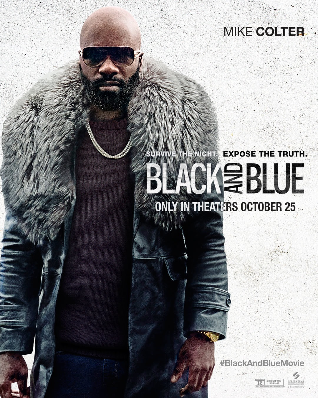 Black And Blue Met Naomie Harris Is Training Day Meets